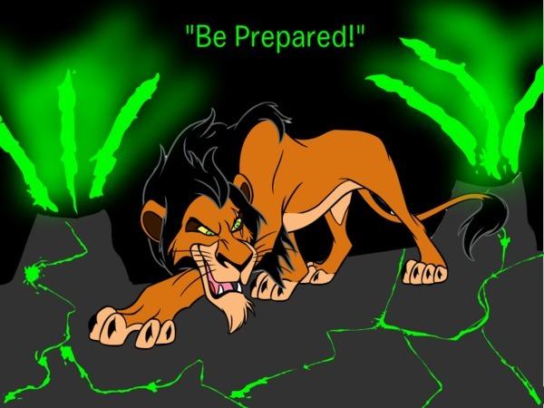 Be Prepared Scar