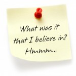 what believe