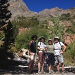 Lundy Lake trail