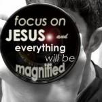 focus on Jesus 3