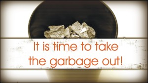 take out garbage