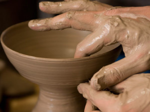 shape clay